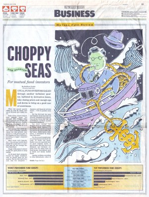 Schumaker 1994 Choppy Seas, SF Chronicle