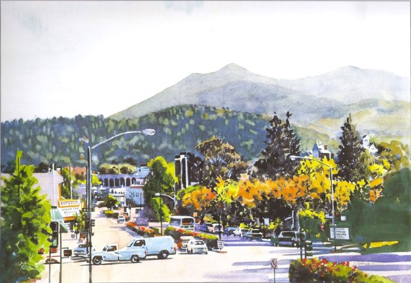 San Anselmo by Dick Cole
