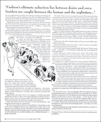 Schumaker 1994 SF Examiner Magazine