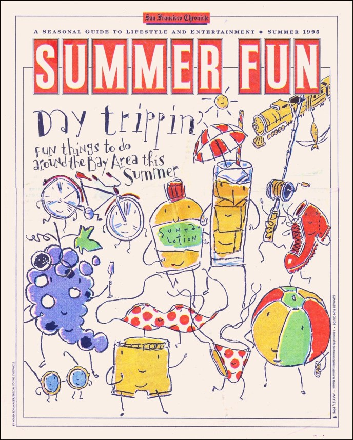 Schumaker 1995 SF Chronicle Summer Guide