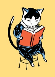 Schumaker reading Cat