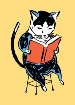 Schumaker reading Cat