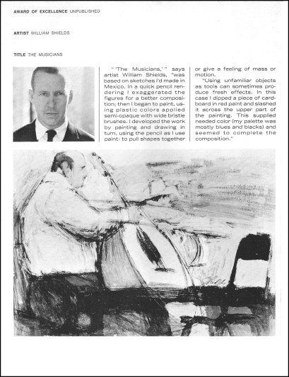 Society of Illustrators Award of Excellence 1963