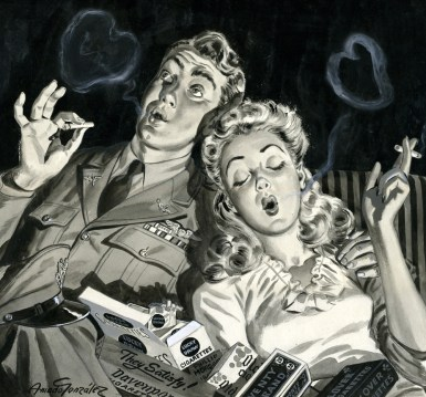 WWII cigarettes