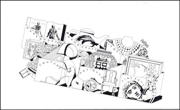 Schumaker Self Promo Line art
