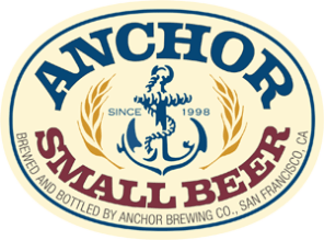 Anchor small-beer-label