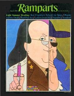 1966 August Ben Franklin by Dugald Stermer