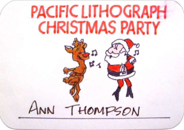 Pacific Litho Mock-Up Party Pass