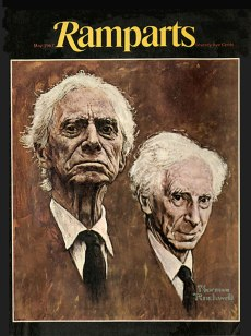1967 May Bertrand Russel by Normal Rcokwell