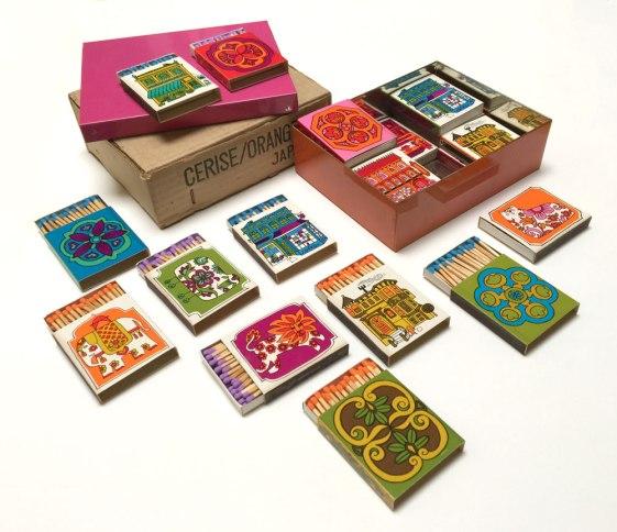 24 match boxes