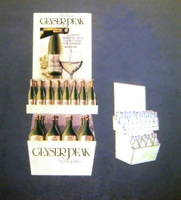 Geyser Peak Display Bin