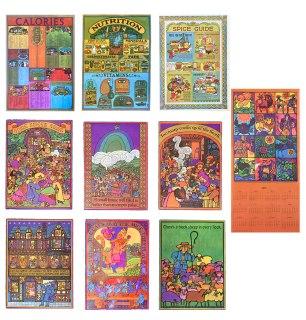 Oka Calendar size prints