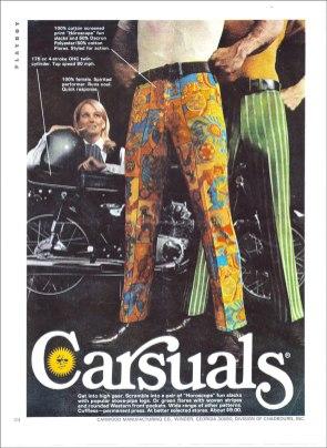 Playboy Pants ad