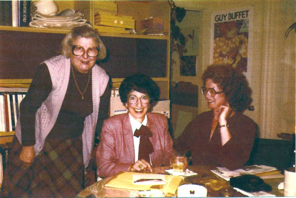 Harriet, Lorraine and Jane