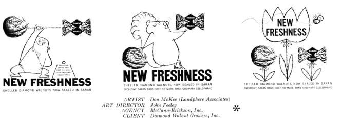 1958 Diamond Walnut Growers