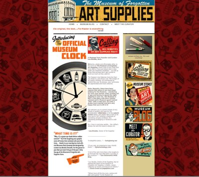 Museum of Forgotten Art Supplies