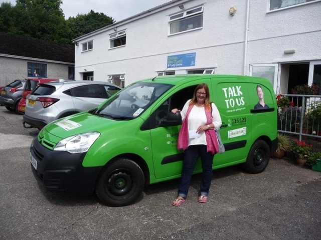 Lesley Moughtin   The Samaritans, Isle of Man