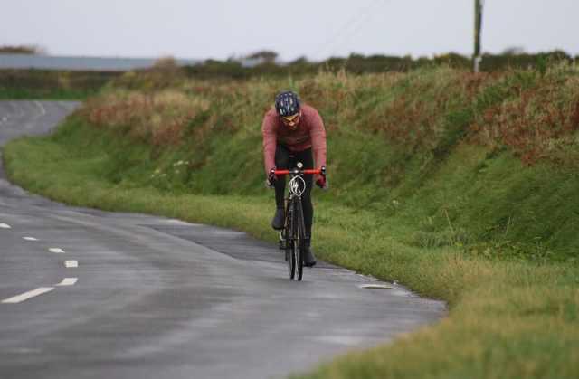 John Garrood six hours into his 24 hour challenge - Photo credit: Isle Listen