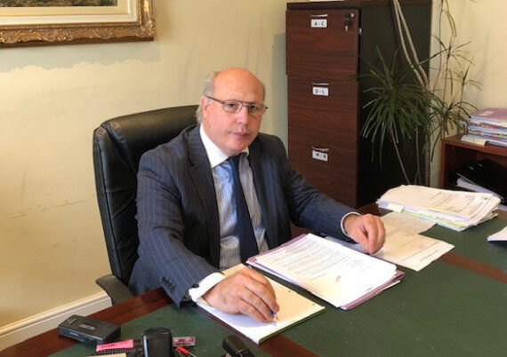 Advocate Ian Kermode
