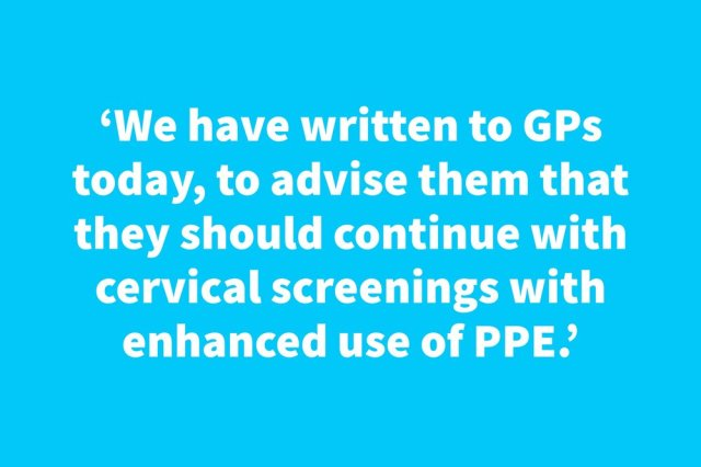 DHSC Confirms Cervical Screenings Can Continue