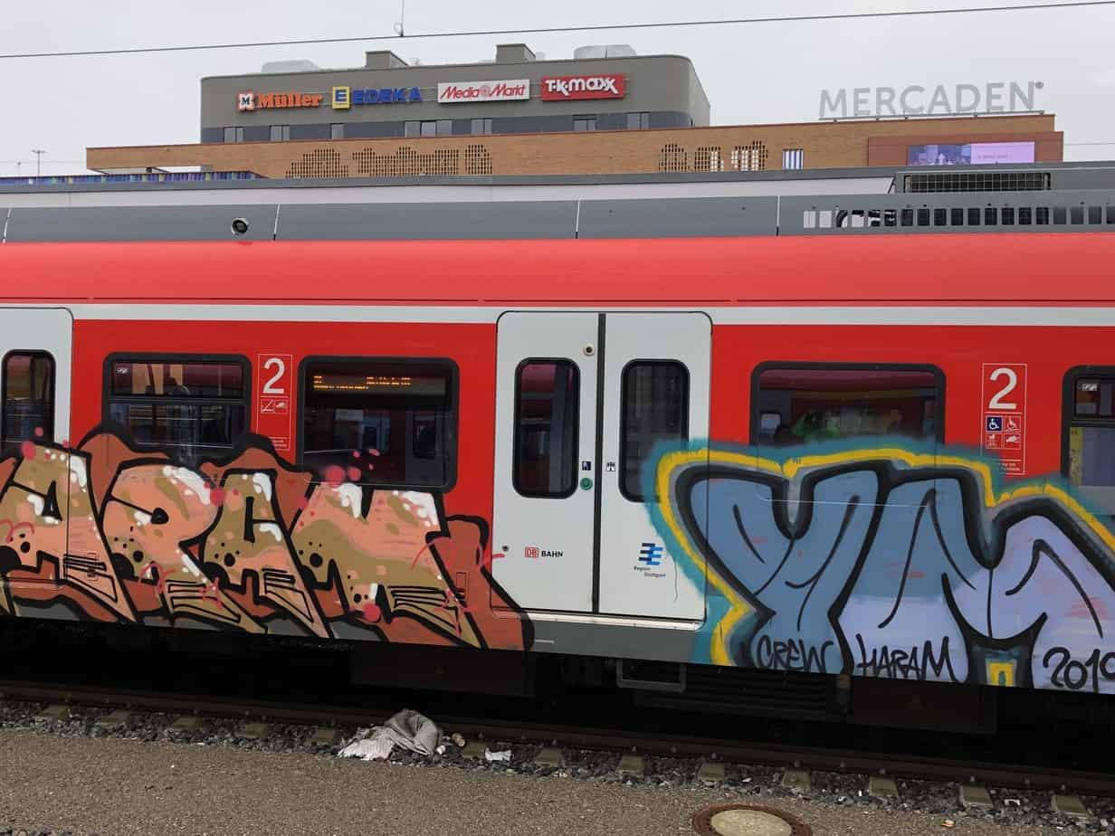 Keine Gnade den Graffiti-Sprayern?