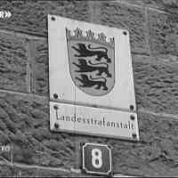 Neue Gefängniskirche 1959 in der Landesstrafanstalt Freiburg