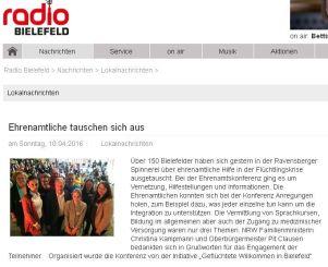 Radio Bielefeld Presse
