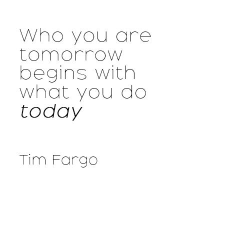 Tim Fargo Zitat