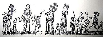 Gegants de Sant Jaume en processó