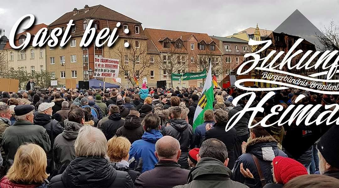 Cottbus wehrt sich: Zukunft Heimat führt Demo mit über 4.000 Teilnehmern durch