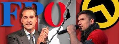 FPÖ und Identitäre zerfleischen sich selbst