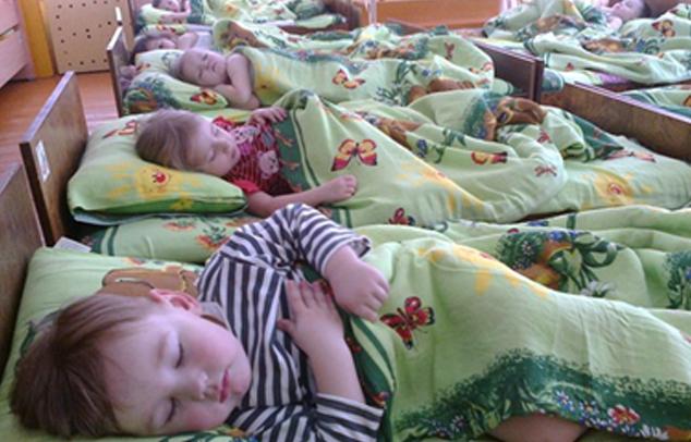 Kindergarten-Mittagschlaf