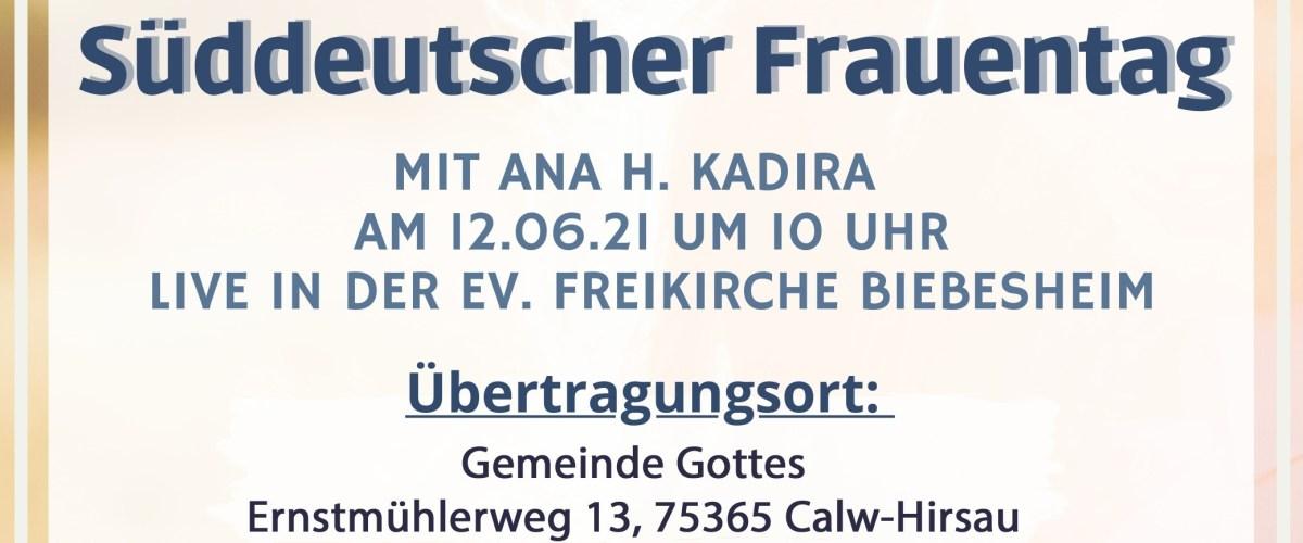 12.06 Süddeutscher Frauentag