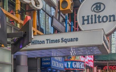 Lender Behind Hilton Times Square Negotiates Agreement