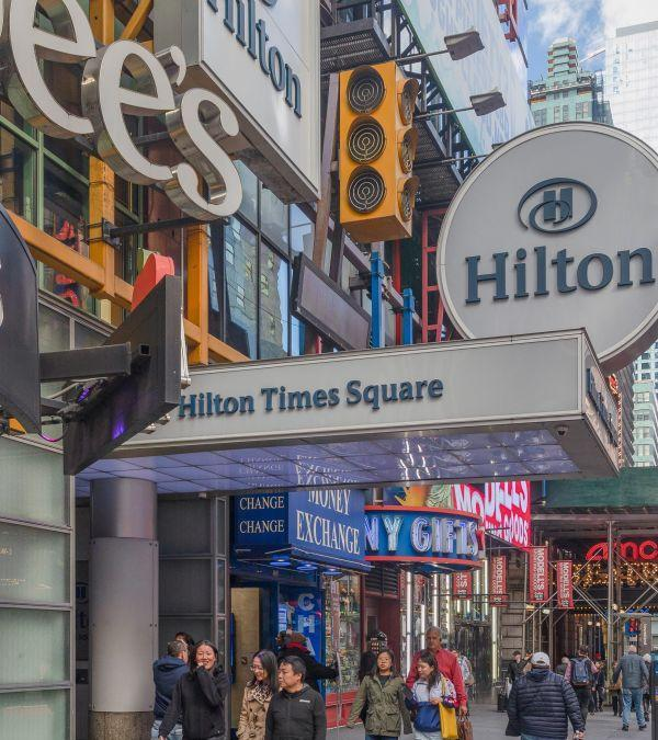 Lender Behind Hilton Times Square Negotiates Agreement
