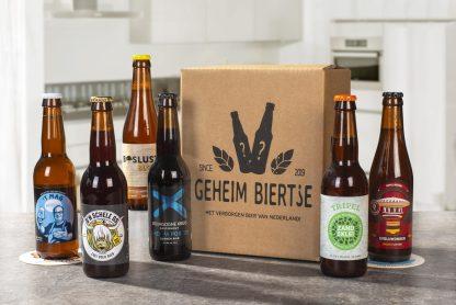 GeheimBiertje - Mystery Bierbox 6 flesjes