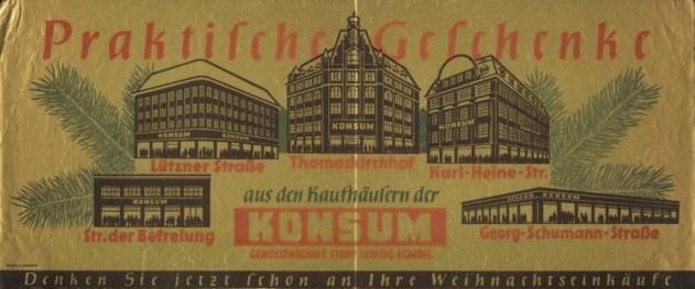 Konsum-Werbung von 1953