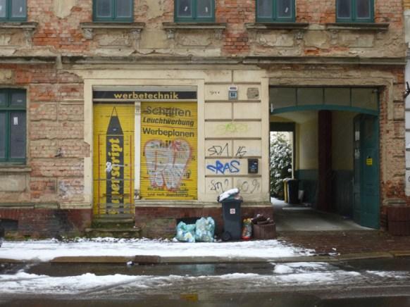 Gießerstraße, Februar 2013