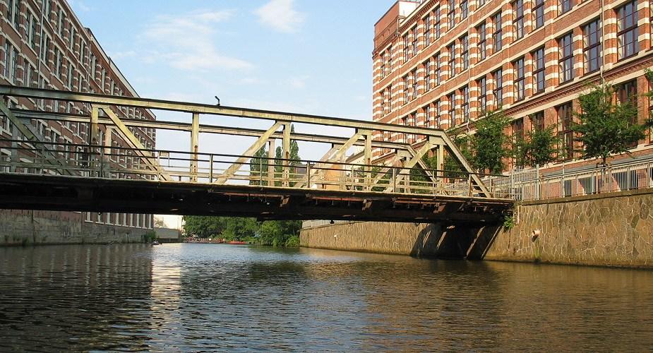Buntgarnbrücke bald weg