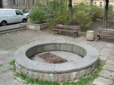 Der Brunnen der Buntgarnwerke