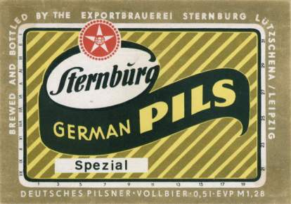 German Pils von Sternburg