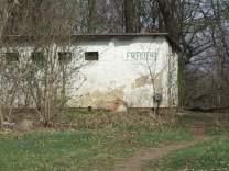 Toilette am Stausee