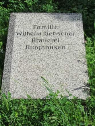 Gedenkstein an der Alten Wache