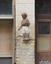 Detail in der Gorkistraße