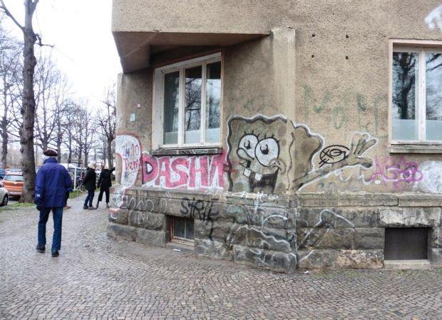 Oeser- / Ecke Holbeinstraße, Dez. 2020