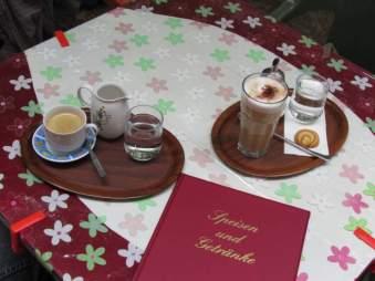 Freisitz des Kaffee Schwarz