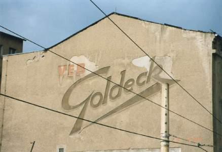 Goldeck in der Menckestraße