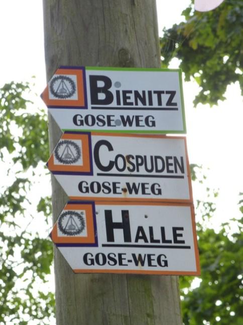 Gose-Wegweiser