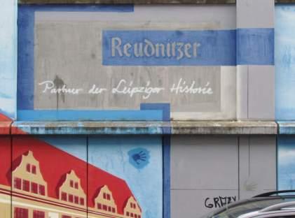 Reudnitzer an der Wand