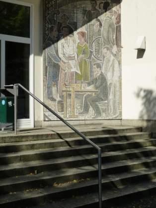 An der HTWK in der Karl-Liebknecht-Straße